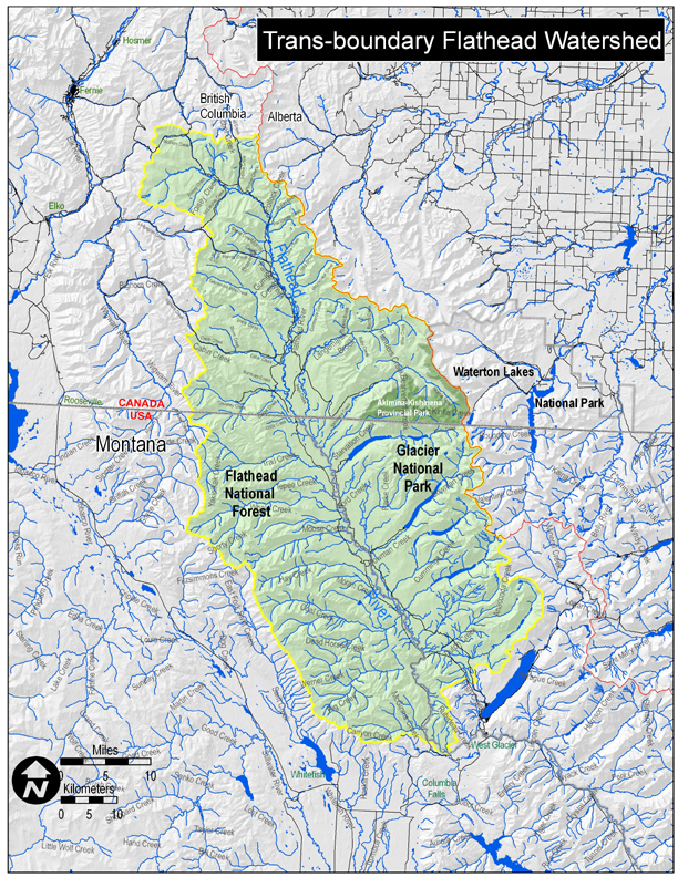 Flathead Basin Commission Maps